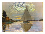 Monet: Sailboat